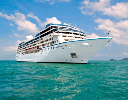 Azamara Quest ship exterior