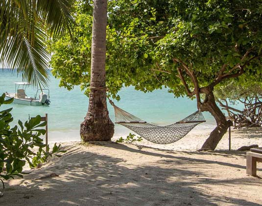 Beach Club by Haad Tien - Hammock on beach