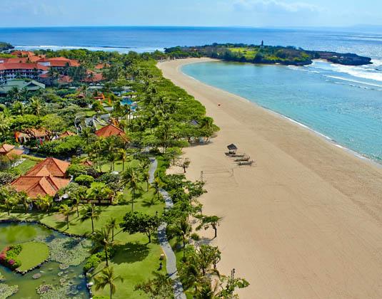 Grand Hyatt Bali - Aerial