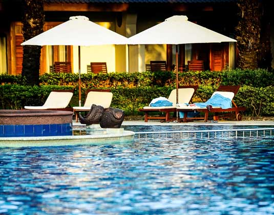 Premier holidays palm garden beach resort spa for Garden pool hanoi