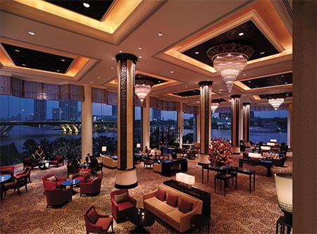 Shangri-La Bangkok - Lobby Lounge