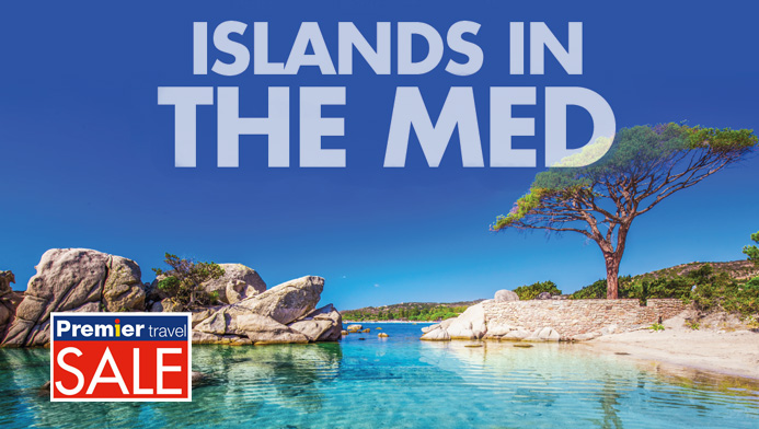 Islands in the Med
