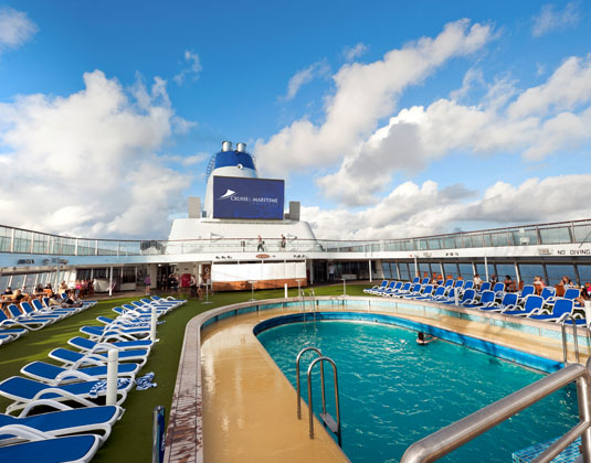 Columbus Pool - Lido Deck