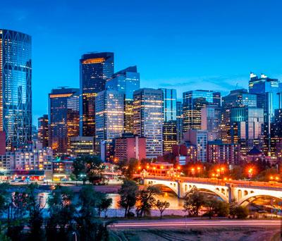 Calgary & Edmonton