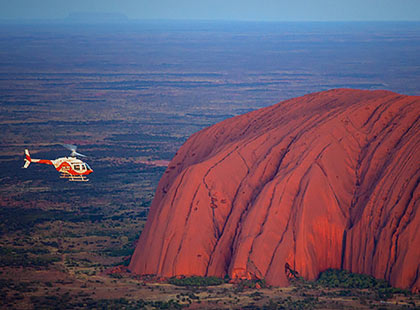 Uluru & Kata Tjuta Helicopteri Flight excursion