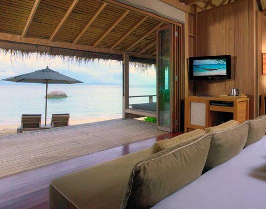 Haad Tien Beach Resort - Castaway Beach Vill Interior