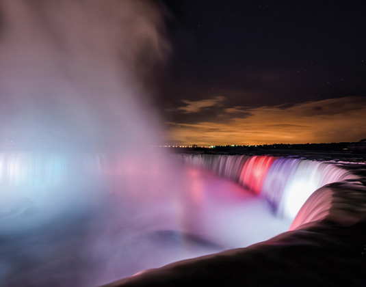 Light up the Falls
