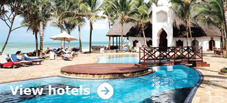 Browse hotels in Zanzibar