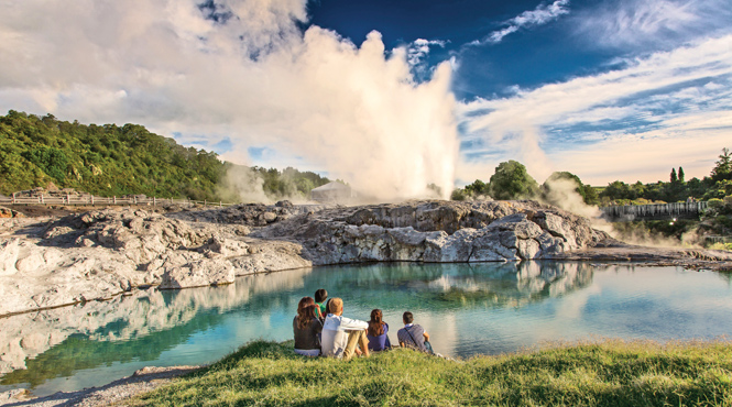 Te Puia Geothermal Valley, Rotorua