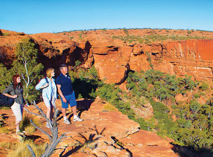 King's Canyon & Outback Panoramas excursion